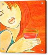 Sweet Tarte Acrylic Print by Debi Starr
