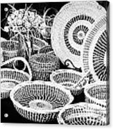Sweetgrass Baskets Acrylic Print