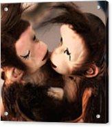 Sweethearts Acrylic Print by Bobbi Feasel