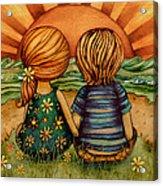 Sweethearts Acrylic Print