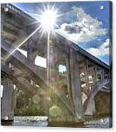 Swift Island Bridge 1 Acrylic Print