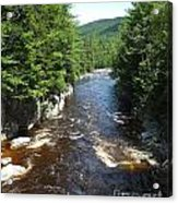 Swift River Below Rocky Gorge New Hampshire White Mountains Acrylic Print