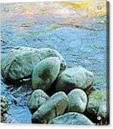 Swift River Rock Kancamagus Highway Nh Acrylic Print