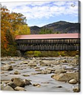 Swift River Vista Acrylic Print