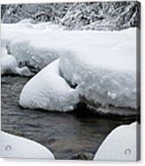 Swift River - White Mountains New Hampshire Usa Acrylic Print