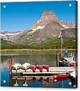 Swiftcurrent Lake Acrylic Print