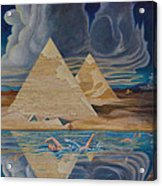 Swimming In That River In Egypt Acrylic Print