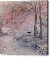 Swing In Tree  Acrylic Print
