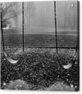 Swing Seats I Acrylic Print by Steven Ainsworth