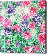 Swirl Dots By Jan Marvin Acrylic Print