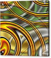 Swirl On Swirl On Swirl On Swirl Acrylic Print