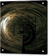 Swirling Moon Acrylic Print