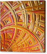 Swirling Rectangles Acrylic Print