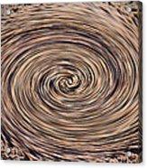 Swirling Sand Acrylic Print