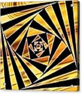 Swirling Spirals Acrylic Print