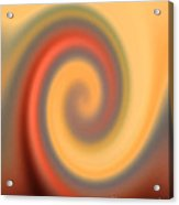 Swirly Abstract Acrylic Print
