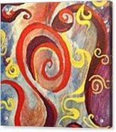Swirly Acrylic Print