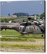 Swiss Air Force Eurocopter Cougar Acrylic Print