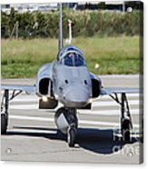 Swiss Air Force F-5e Tiger Recovering Acrylic Print