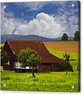 Swiss Farms Acrylic Print