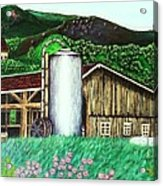 Swiss Granary Acrylic Print