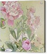 Syakuyaku Crop II Acrylic Print