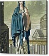 Sybil, Illustration From Lantique Rome Acrylic Print