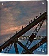 Sydney Bridgeclimbers Acrylic Print