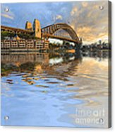 Sydney Harbour Bridge Australia Spectacular Early Morning Light Acrylic Print