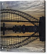 Sydney Harbour Late Afternoon Acrylic Print