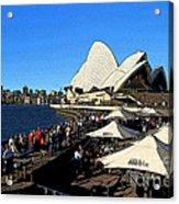 Sydney Opera House Bar Acrylic Print