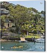 Sydney Seaside Villas Three Acrylic Print