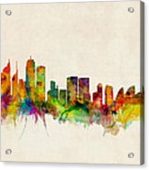 Sydney Skyline Acrylic Print