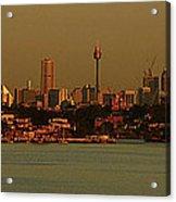 Sydney Sunset Acrylic Print