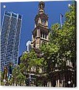 Sydney Town Hall Acrylic Print