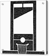Symbol Guillotine Acrylic Print