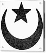 Symbol Islam Acrylic Print