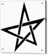 Symbol Pentacle Acrylic Print
