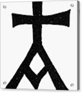 Symbols Chrisma Acrylic Print