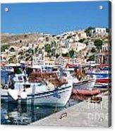Symi Island Greece Acrylic Print