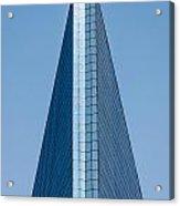 Symmetrical Skyscraper Acrylic Print