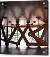 Symmetries Acrylic Print by Jose luis Mendes