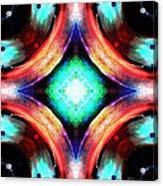 Symmetry Of Colors Acrylic Print