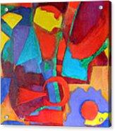 Syncopated Acrylic Print by Diane Fine