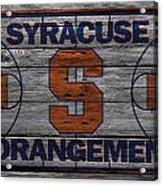Syracuse Orangemen Acrylic Print