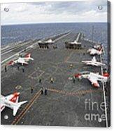 T-45c Goshawk Training Aircraft Acrylic Print