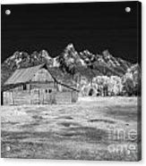 T A Moulton Barn Acrylic Print