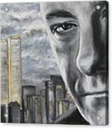 T And The Wtc Acrylic Print