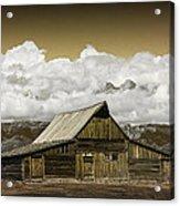 T.a. Moulton Barn In The Grand Tetons Acrylic Print