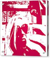 Ta Ta Telephone Acrylic Print by Monica Warhol